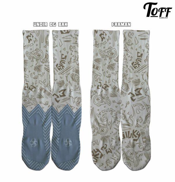 Streetwear sokkar